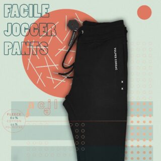 The concept of Function and form along with minimalist design brings the very jogger into life. Materials used in the joggers play a vital role by maintaining its insulating properties when wet.  Fabric : fleece ( 80% cotton-20%  polyester )  Weight : 240 / gsm   Sizes : XS , S , M ,L  #unisex #joggerpants #streetwear #streetfashion #minimalist #trending #vulpescorsac