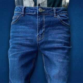 Our Denim Blue jeans  offer the strongest shape recovery and timeless style. They're made with premium stretch denim that's durable, fast-drying and easy to clean. You won't want to leave for your next adventure without them.